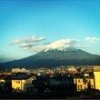帰りも富士山