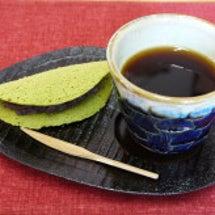 和菓子と珈琲でのんび…