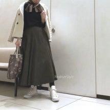 小物と洋服の色合わせ…