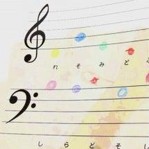 かわいい色音符