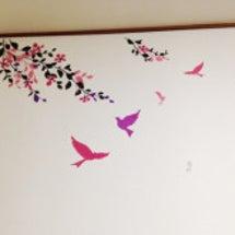 部屋の壁をデコ