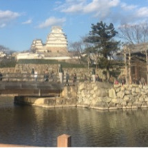 国宝 姫路城へ☆