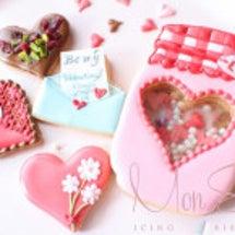 バレンタインとバラ絞…