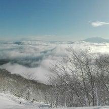 めいほうスキー場と道…