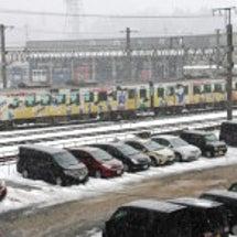 JR米子駅雪景色 【…