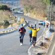 ソラコさんとマラソン…