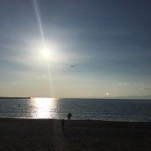 毎月恒例、海沿いラン…