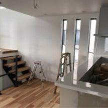 モデルハウス家具搬入