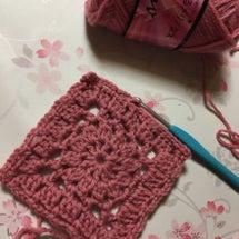 編み物教室 四角モチ…