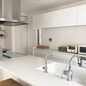 リノベ記録*真っ白なキッチンですっきりとしたおうちづくり