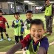 親子でサッカー低学年…