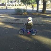 娘4歳自転車に乗れた