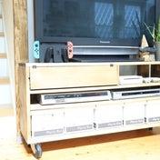 *【100均収納】セリアでテレビボード周りを整える方法*