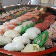 お寿司で事務所新年会…