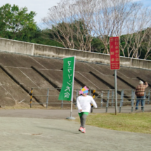 双子のマラソン大会