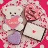2月のアイシングクッキー・1DAYレッスンはバレンタイン企画レッスンです!の画像
