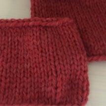 編み物教室 棒針編み…