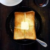 きび糖シロップバタートースト  Ryumon coffee stand