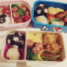 今日はお弁当3つ!!…