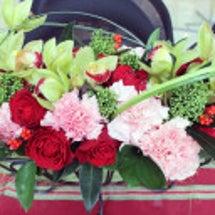 シリンダールームの花