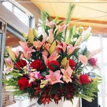 セミナールームのお花