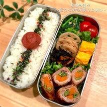 ◆野菜の豚肉巻き弁当…