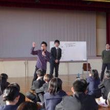 熱田高校でコミュニケ…