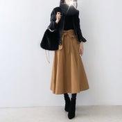 【coordinate】コンパクトなアウターの時にも便利なUNIQLOカシミヤセーター