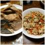 カスベと炒り豆腐