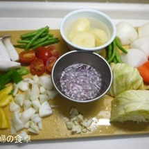 野菜たっぷりの夕食♪