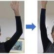 脳梗塞後の肩の動きの…