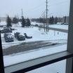 冬のカナダはまだまだつづく&つるつる足とチョコプレート