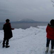 雪❄の支笏湖もきれい…