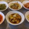 THEアメリカ人との韓国焼き肉村と、ゴム。