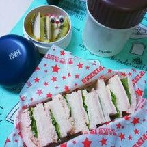 サンドイッチ弁当~♪…