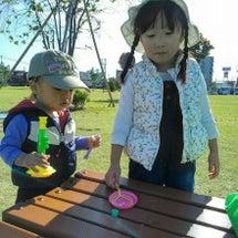 公園の~(*^▽^)…