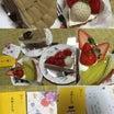 お誕生日は感謝の日♪フルーツケーキと紅茶♪☆