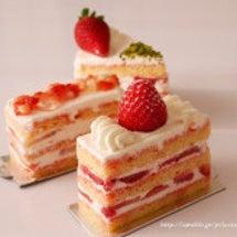 苺のショートケーキ♡…