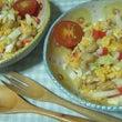 白菜と蒸し大豆のサラ…