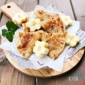 材料2つ❤️節約&簡単レシピ❤️もっちもち食感のバナナ焼き