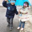 はじめての相合傘。