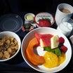 (13)PQMを獲得するブエノスアイレスの旅~ユナイテッド航空ブエノスアイレス線Cクラス機内食④