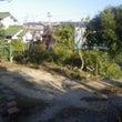 敷地(庭)の拡張工事…