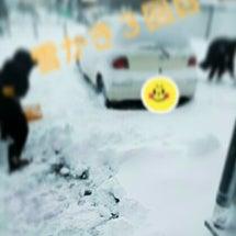 大雪( *´艸`)
