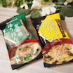 #マルトモ #ギフト限定 #お味噌汁 #麦味噌ほうれん草 と #和風出汁仕立て卵スープ