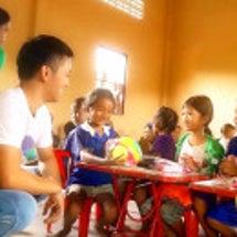 カンボジアの学校の開…
