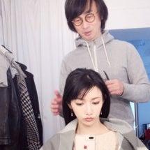 メイクの太田さんと