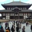 青空に浮かぶ東大寺