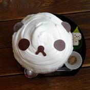かわいいパンダのかき氷  サカノウエカフェ