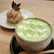 ★抹茶ラテとモンブラ…